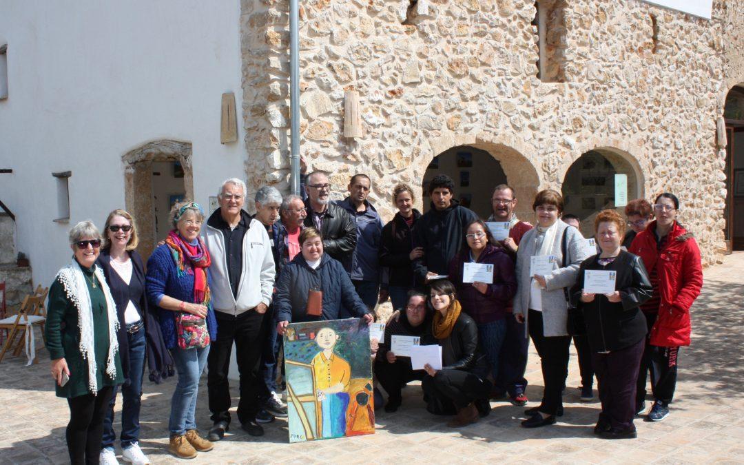 """""""Concurso de pintura Jorge Olmos"""" para personas con capacidades diferentes"""