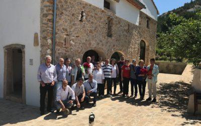 L'Hort de L'Alé lugar de encuentro para los socios de la Asociación Riuraus Vius